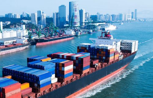 transport maritime chine