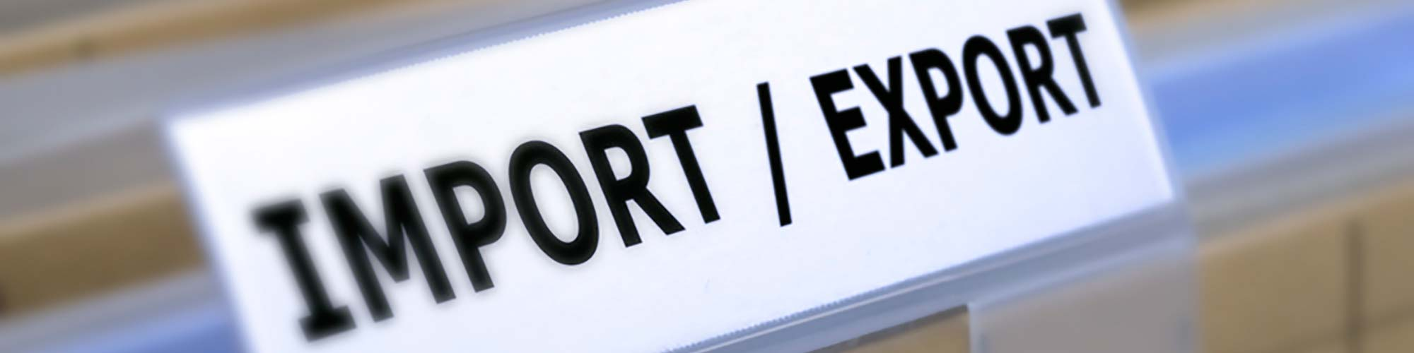 importation exportation chine