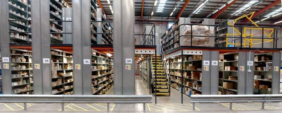 stockage e-commerce chine