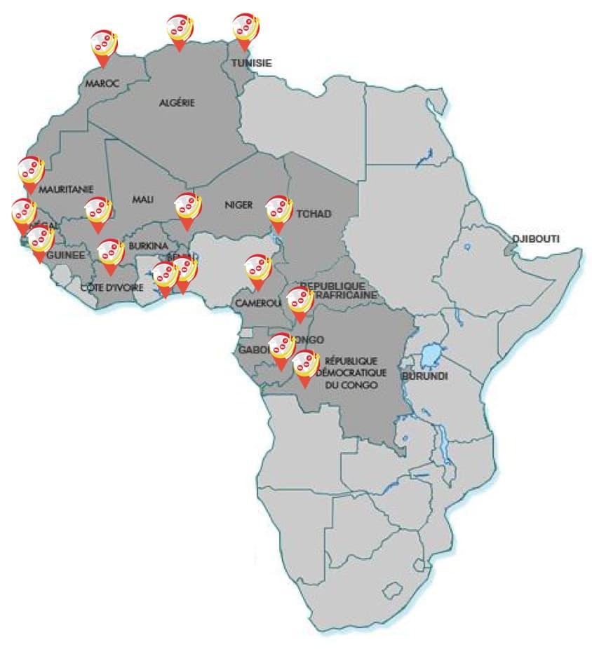 fret aérien chine afrique