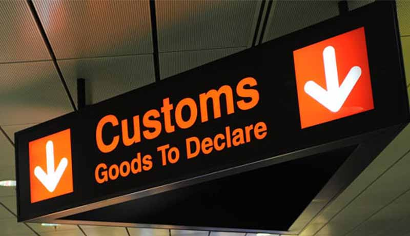 customs goods to declare