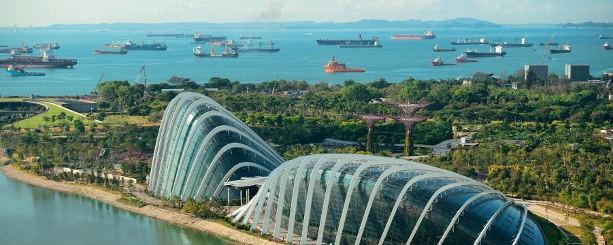 Trafic maritime Singapour