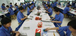 usine chinoise