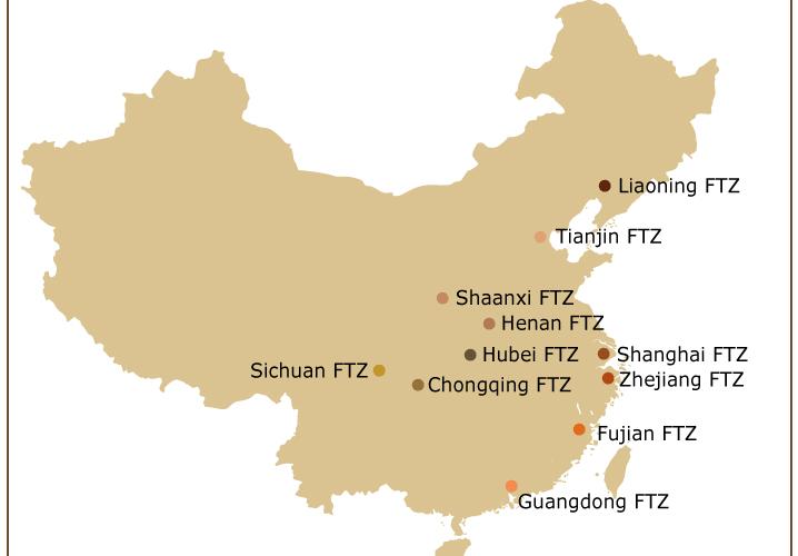 free trade zone china