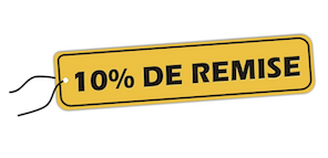10% remise fret international