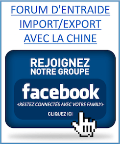 groupe facebook import export chine