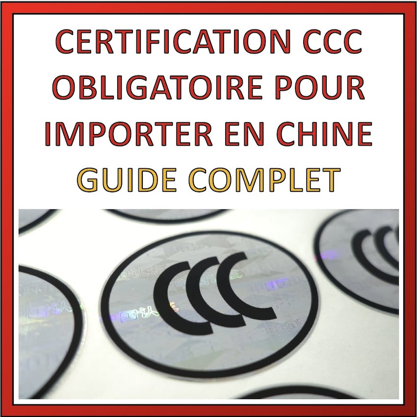 certification ccc importation chine