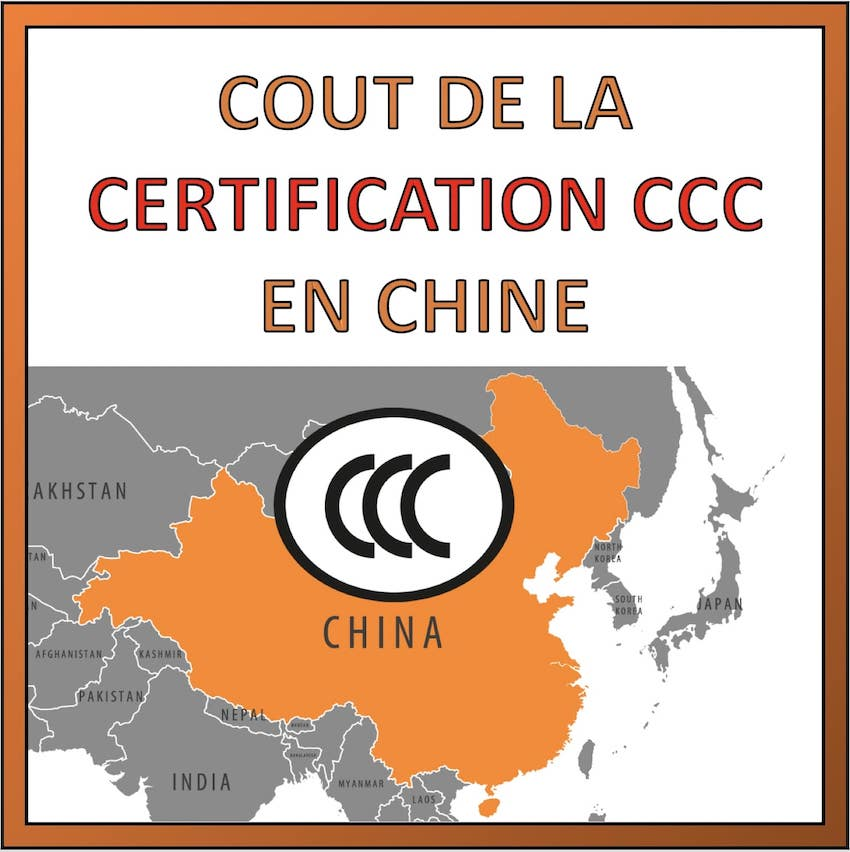 cout certification ccc chine