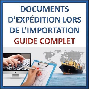 document expéditions produits de chine