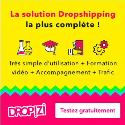 dropizi cms dropshipping francais