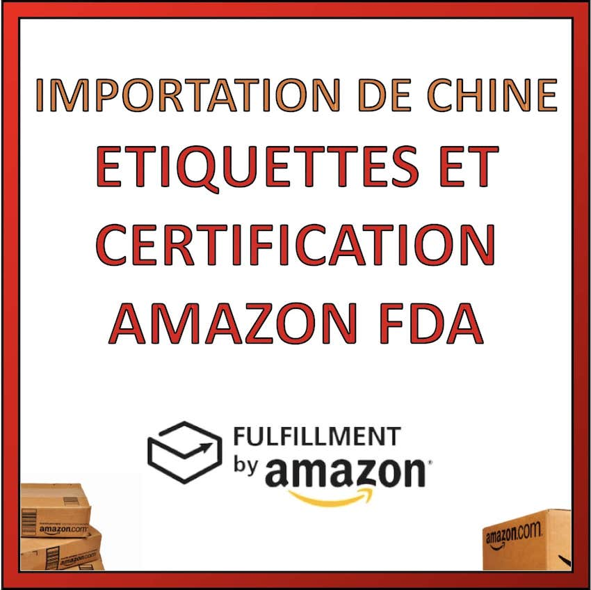etiquettes et certification AMAZON FBA