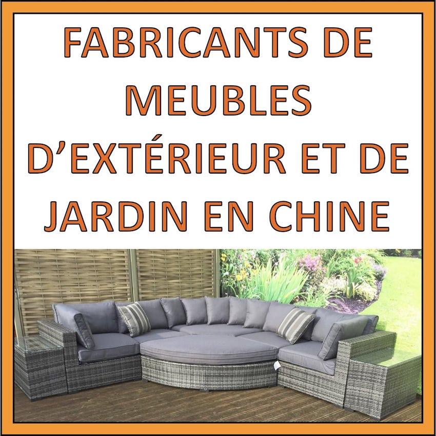 fabricants meubles exterieur chine