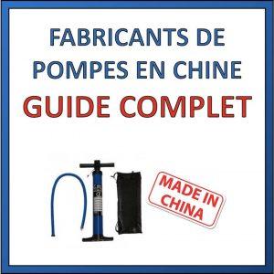 fabriquant de pompes en chine