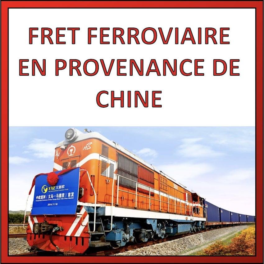 fret ferroviaire en provenance de chine