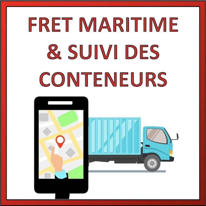 fret maritime et suivi conteneur