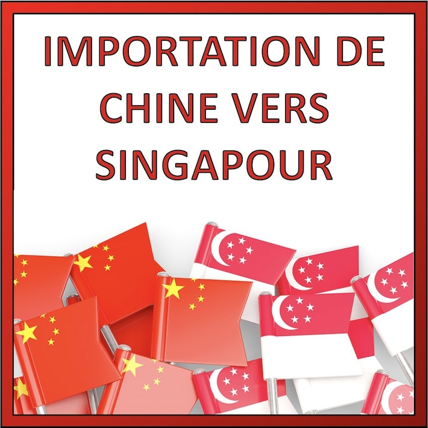 importation chine singapour