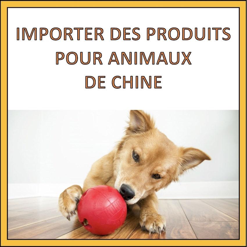importer produits pour animaux de chine