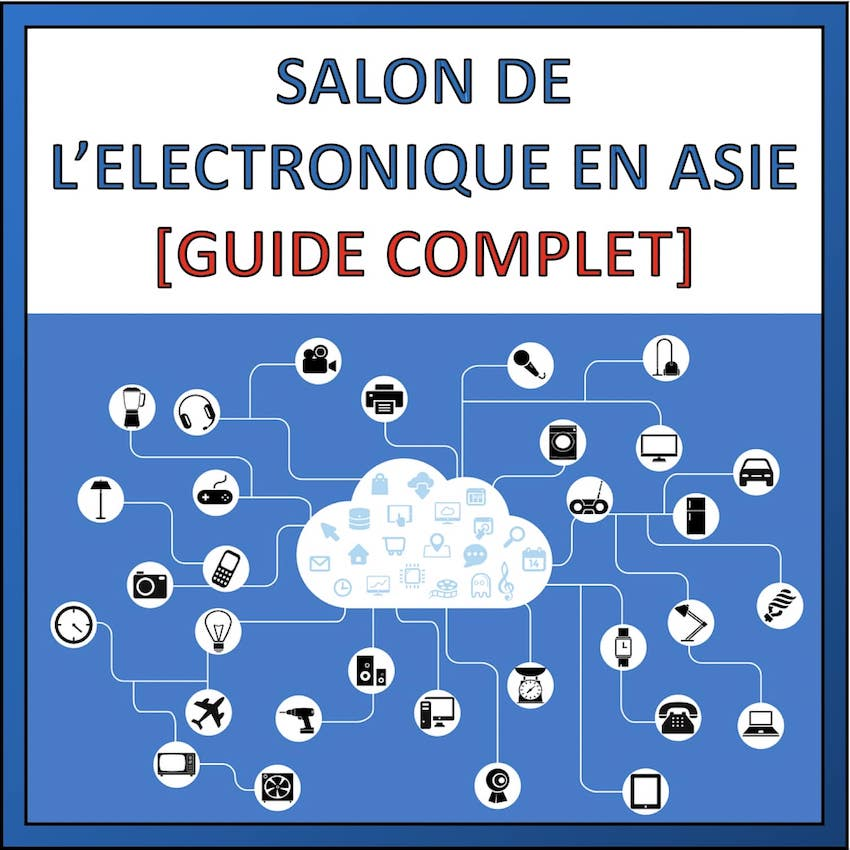 salon electronique en asie