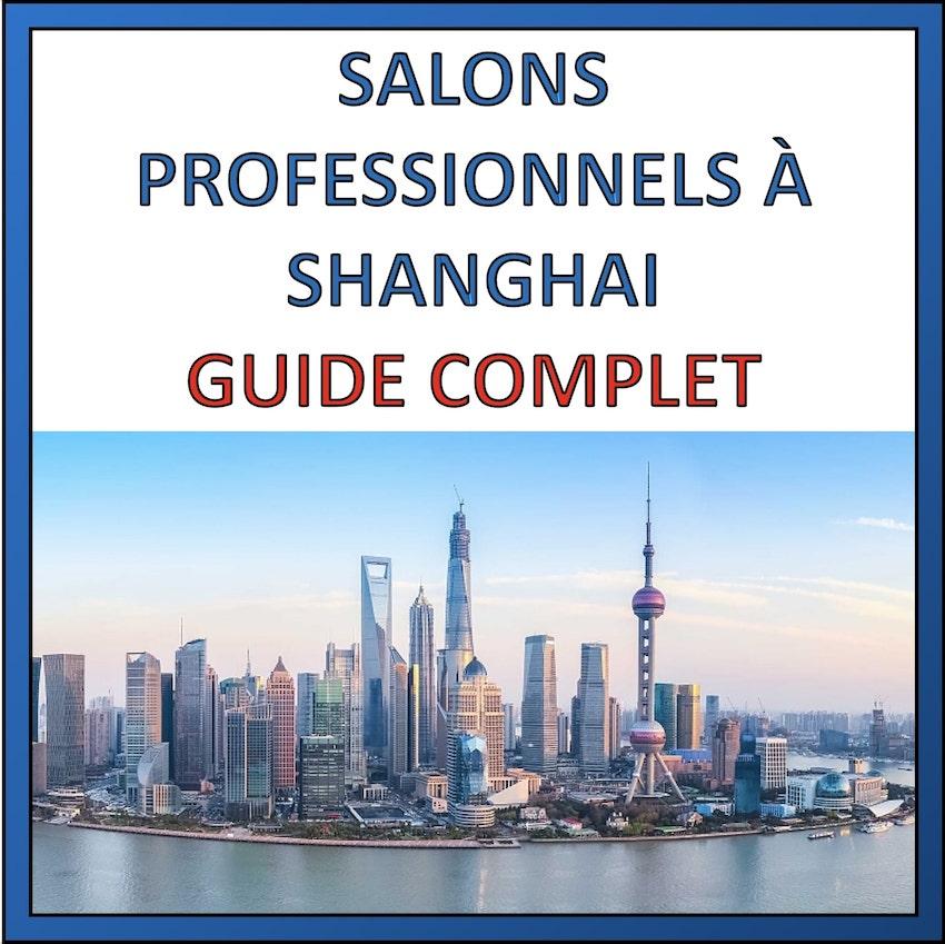 salons professionnels a shanghai