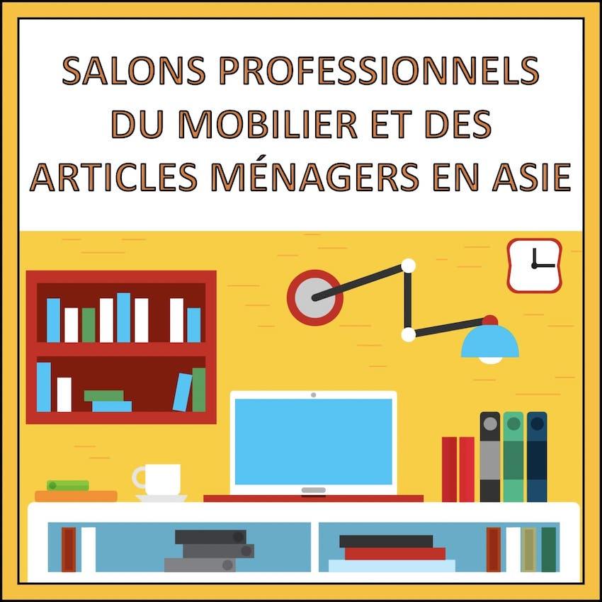 salons professionnels asie mobilier maisons