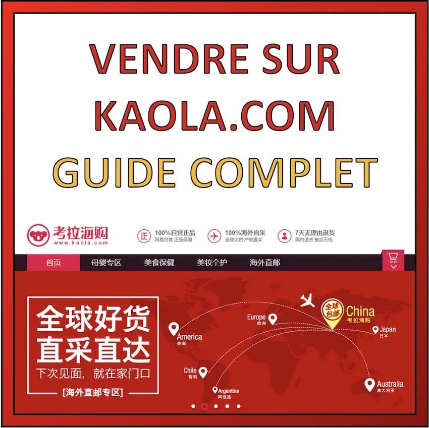 vendre sur kaola.com en chine
