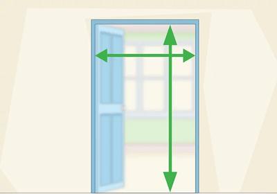 Mesurer la taille fenetre porte